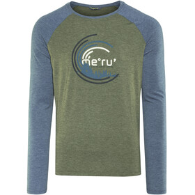 Meru Karlskoga Functional LS Shirt Men Forest Night Melange